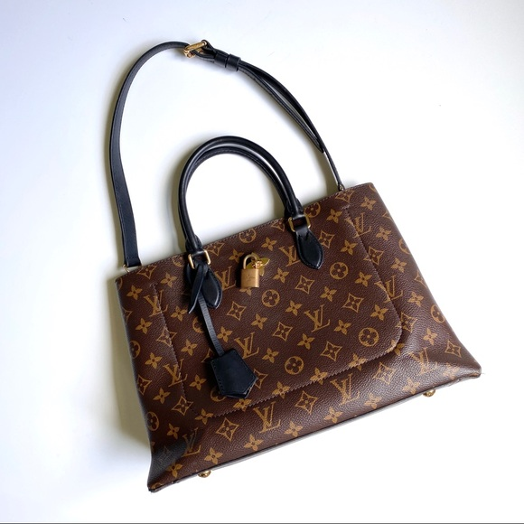 Louis Vuitton Handbags - Louis Vuitton Monogram Flower Tote Black